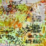 Fond de graffiti Images stock