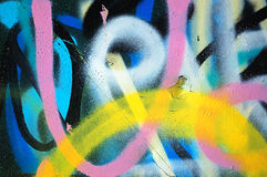 Fond de graffiti Photo stock