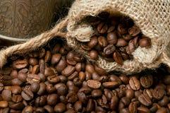 Fond de grains de café Images libres de droits