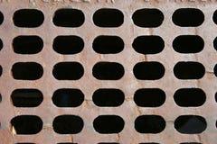 Fond de grille d'égout Images stock