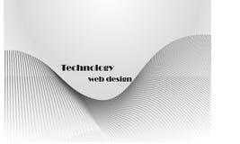 Fond de gris de technologie Images stock