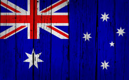 Fond de grunge d'Australie Images stock