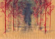 Fond de grunge d'automne Images stock