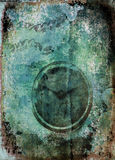 Fond de grunge d'horloge illustration libre de droits