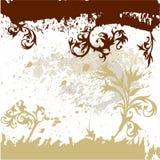 Fond de grunge de calligraphie Photographie stock libre de droits