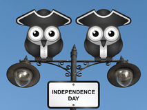 Fond de grunge de l'indépendance Day Photographie stock