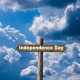 Fond de grunge de l'indépendance Day Image libre de droits