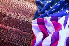 Fond de grunge de l'indépendance Day Images stock