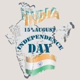Fond de grunge de l'indépendance Day illustration de vecteur