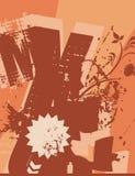 Fond de grunge de typographie Photographie stock libre de droits