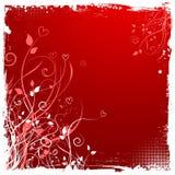 Fond de grunge de Valentines illustration de vecteur