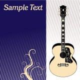 Fond de guitare illustration libre de droits