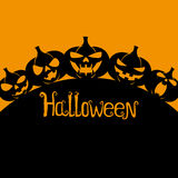 Fond de Halloween avec l'espace pour le texte Photos stock
