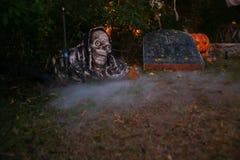 Fond de Halloween dans le jardin Image libre de droits