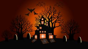 Fond de Halloween, illustration de vecteur illustration de vecteur