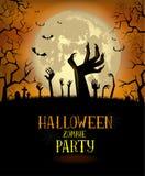 Fond de Halloween pour une affiche illustration de vecteur