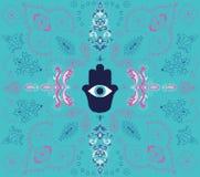 Fond de Hamsa Illustration Stock