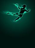 Fond de handball de femme Photos stock