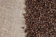 Fond de haute résolution de café avec l'espace de copie photographie stock
