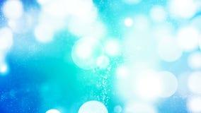Fond de HD Loopable avec le bokeh bleu gentil illustration de vecteur