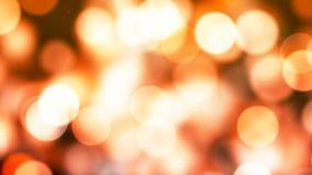 Fond de HD Loopable avec le bokeh d'or gentil illustration libre de droits