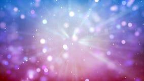 Fond de HD Loopable avec le bokeh rose gentil illustration libre de droits