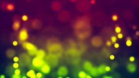 Fond de HD Loopable avec le bokeh vert gentil illustration libre de droits