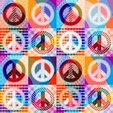 Fond de hippie Image libre de droits