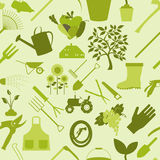 Fond de jardinage Configuration sans joint Images libres de droits