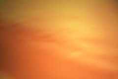 Fond de jaune orange Photo libre de droits
