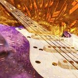 Fond de jazz Images libres de droits