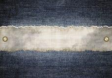 Fond de jeans Images libres de droits