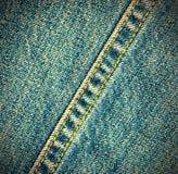 Fond de jeans d'indigo Photos libres de droits