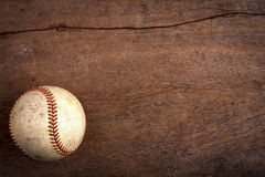 Fond de jeu de baseball Photos stock