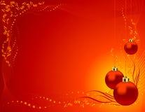 Fond de jouet d'arbre de Noël Images stock