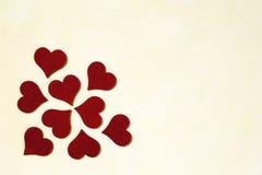 Fond de jour d'amour et de valentines Image libre de droits