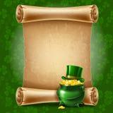 Fond de jour de St.Patricks Photo stock