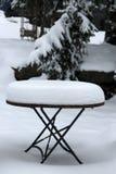Fond de jour de tempête de neige Image libre de droits