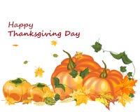 Fond de jour de thanksgiving Image libre de droits