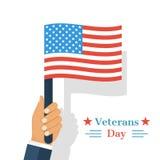 Fond de jour de vétérans illustration libre de droits