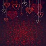 Fond de jour de Valentineâs Images stock
