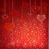 Fond de jour de Valentineâs Image libre de droits