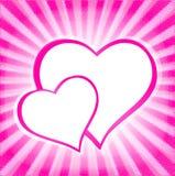 Fond de jour de Valentineâs Photo stock