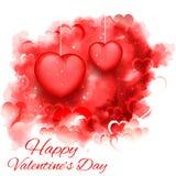 Fond de jour de Valentine Images stock