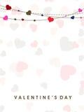Fond de jour de Valentines. Images stock