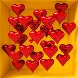 Fond de jour de valentines Photos libres de droits