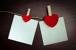 Fond de jour de Valentines avec des coeurs Photographie stock