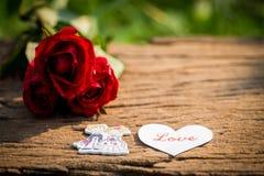 Fond de jour de Valentines avec des coeurs Photo stock