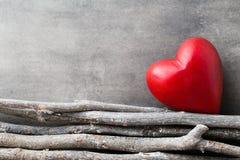 Fond de jour de Valentines avec des coeurs Image libre de droits