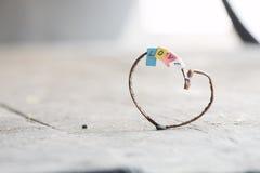 Fond de jour de Valentines avec des coeurs Idée d'amour Photos stock